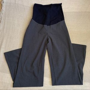 OH BABY Maternity Dress Pants. Full Belly Panel